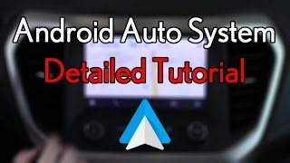 How To Use Android Auto On Chevrolet Mylink System - Michael