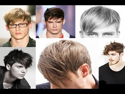 Latest Mens Hairstyles 2015 With Long Short Medium Fringe Bangs
