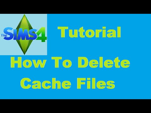 The Sims 4: Tutorial - How to Delete Cache Files
