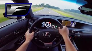 Lexus GS F 2016 First Drive Impression POV - 5.0 V8 477 HP