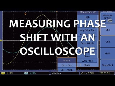 Measuring Phase Shift with an Oscilloscope (Full Lecture)