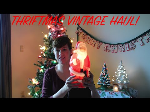 Thriftmas - A Gigantic Vintage Thrifted Christmas Haul! I A Thrifty MIss