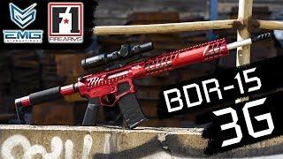 EMG F-1 Firearms BDR-15 3G - Skeletonized AEG Training Rifle - COMING FALL 2018