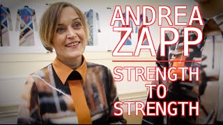 Andrea Zapp and her fashion label are going from strength to strength