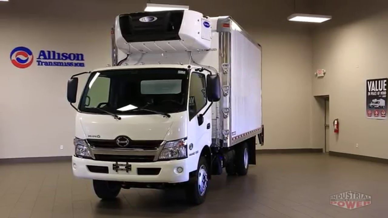Hino Trucks Reviews >> 2016 Hino 195 Reefer In Depth Look Review Youtube
