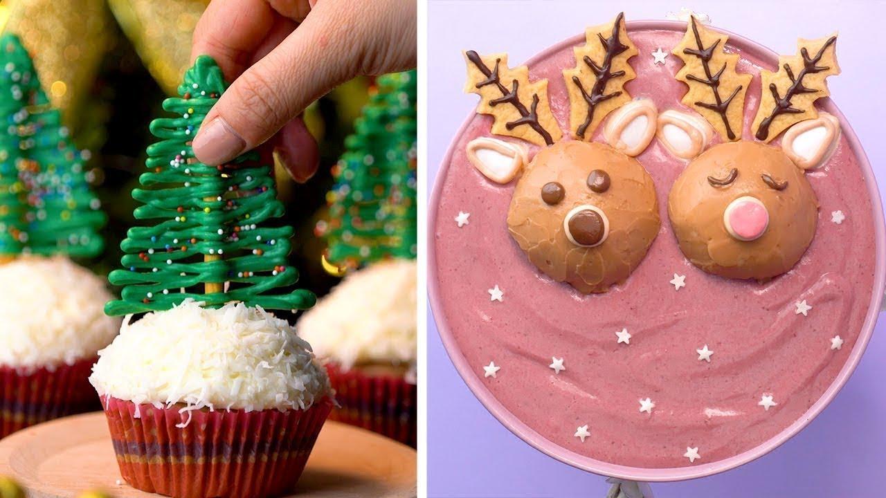 2019 Santa Claus Christmas Cake Decorating Ideas So Yummy Christmas Cake Recipes Tasty Plus