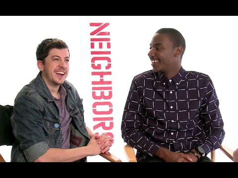 Christopher Mintz Plasse & Jerrod Carmichael Interview - Neighbors ...