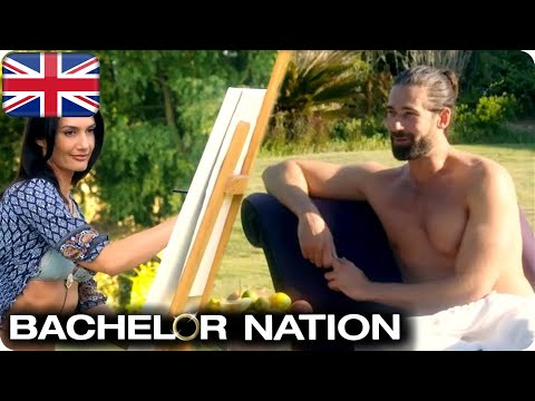 Alex Gets Alicia & Charlotte To Draw Him | The Bachelor UK