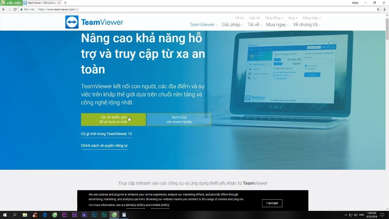 Installation instructions for Teamviewer (Full Crack) and Reset IDs expire  with a free trial