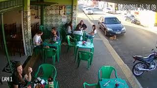 Hung thần đường phố đã được camera an ninh nhà dân ghi lại camera 1