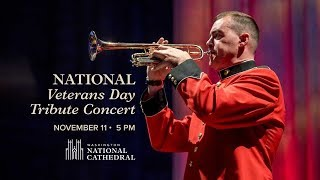 November 11, 2018: National Veterans Day Concert at Washington National Cathedral