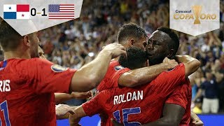 Estados Unidos avanza invicto a Cuartos de Final | Panamá 0 - 1 Estados Unidos | Copa Oro