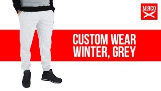 Спортивные штаны Custom Wear - Winter, Grey. Обзор