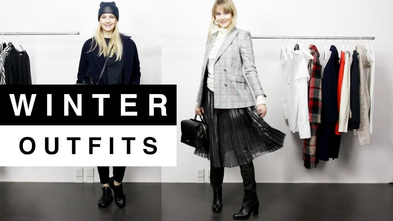 8685da1d4f Winter Outfits 2018 - YouTube