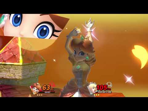 Super Smash Bros. Ultimate (Princess Daisy Vs. Rosalina & Luma) #2