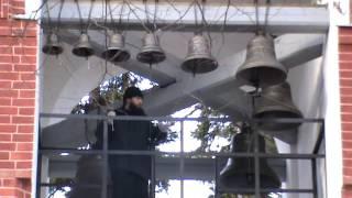 Колокольный звон в традиции Московского Новодевичего монастыря.