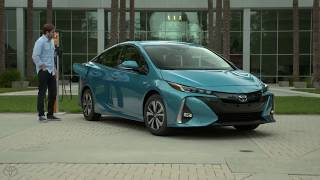 2019 Toyota Prius Plug-in Hybrid. How To Charge Prius.