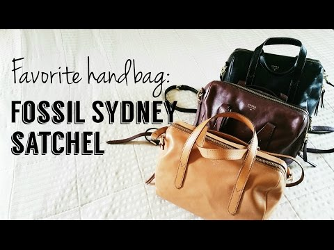 My Favorite Handbags: The Fossil Sydney...