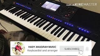 TUTORIAL BERMAIN SAXOPHONE SIMPLE PADA KEYBOARD || How to play saxophone keyboard