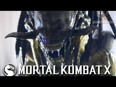 "PREDALIEN BRUTALITY! - Mortal Kombat X: ""Alien"" Gameplay  "