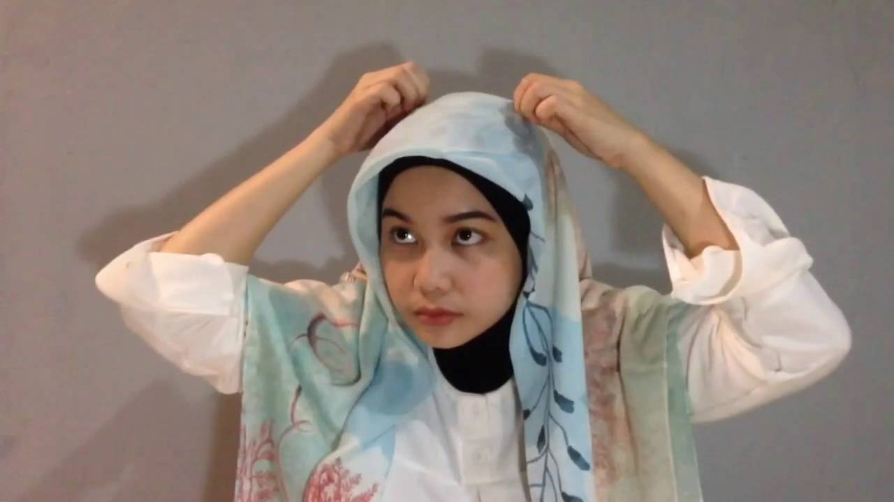 Super Simple Hijab Tutorial Fit For CHUBBY CHEEKS Using