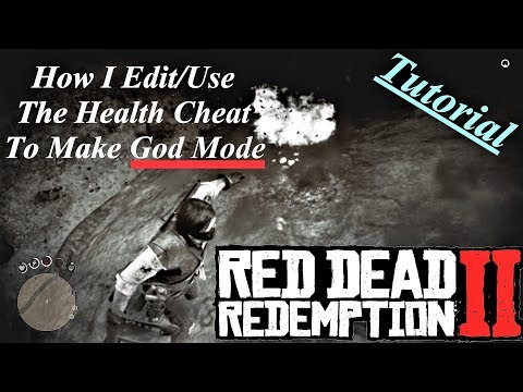 (Tutorial) How I Edit/Use My Health Cheat in Red Dead Redemption 2 {God Mode} (kinda) thumbnail