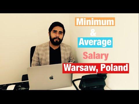 Minimum and Average Salary Warsaw 2021 | The Migration Bureau