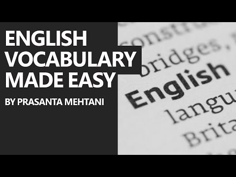 English Made As Easy As Possible - Words Starting with the Alphabet