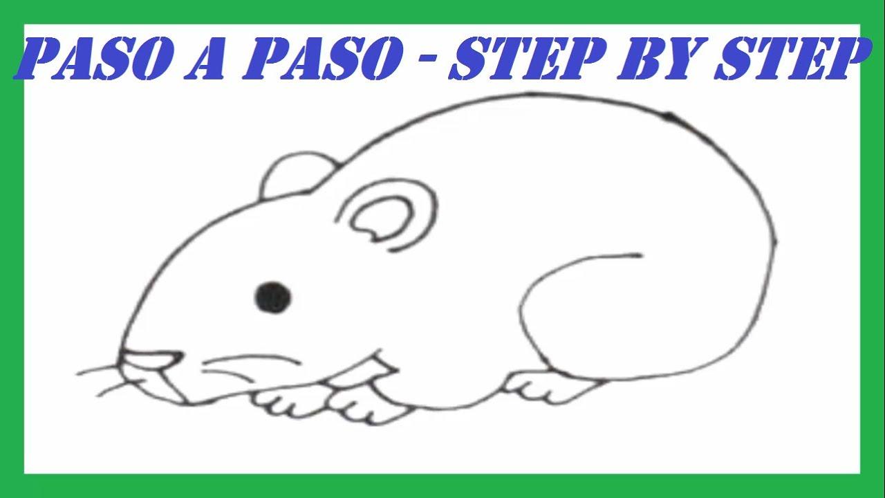 Dibujos Infantiles Para Colorear De Hamsters: Como Dibujar Un Hámster Paso A Paso L How To Draw A