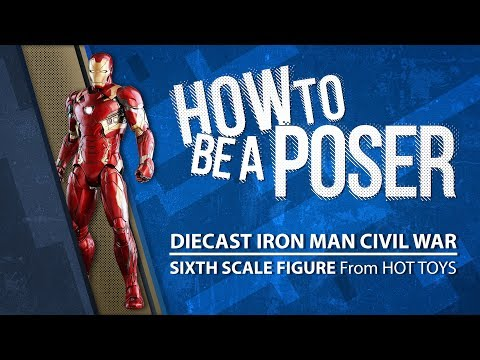 How to be a Poser – Hot Toys' Diecast Iron Man from Civil War