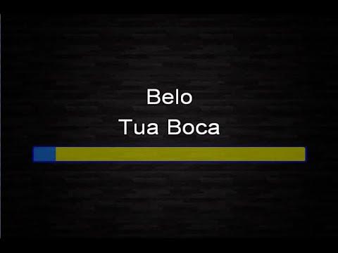 Belo - Tua boca (Karaokê)