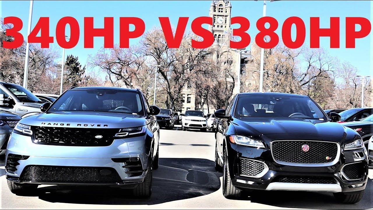 2020 Jaguar F-Pace Vs 2020 Range Rover Velar: Is The Less ...