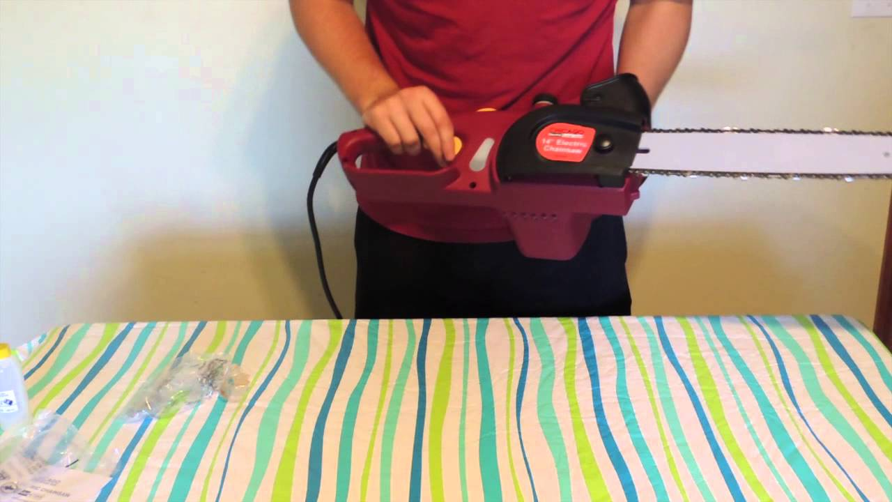 Harbor Freight Electric Chainsaw Test Review Chicago 14 Inch