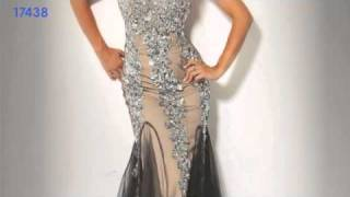 Repeat youtube video Hollywood GLAM - Jovani 7833, 73154, 158504
