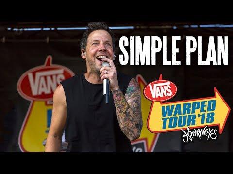 Simple Plan - Full Set (Live Vans Warped Tour 2018) Last Warped Tour...