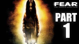 ► F.E.A.R. | #1 | Replikanti! | CZ Lets Play / Gameplay [720p] [PC]