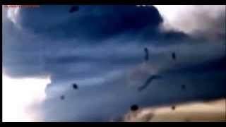 Взрыв на полигоне в Ростове