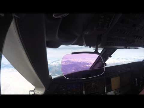 Gulfstream 550, Italy to Geneva Switzerland