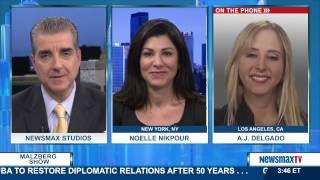 Malzberg Panel - Noelle Nikpour & A.J. Delgado |pt2 2017 Video