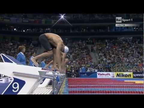 Mondiali Di Nuoto Shanghai 2011 - Finale 50m Stile Libero Uomini