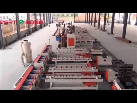 Pipe Fabrication Production Line Skid-mounted On Site