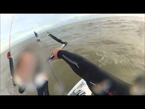 kite surfing light wind on 14m RPM