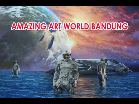 GREAT....,  Amazing Art World Bandung - 3D Museum  -  Tempat Wisata Baru di Bandung