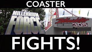 Millennium Force vs. Intimidator 305 - COASTER FIGHTS!