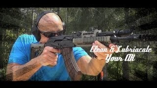 How To: Clean & Lubricate The AK (47/74) Pattern Rifle (HD)