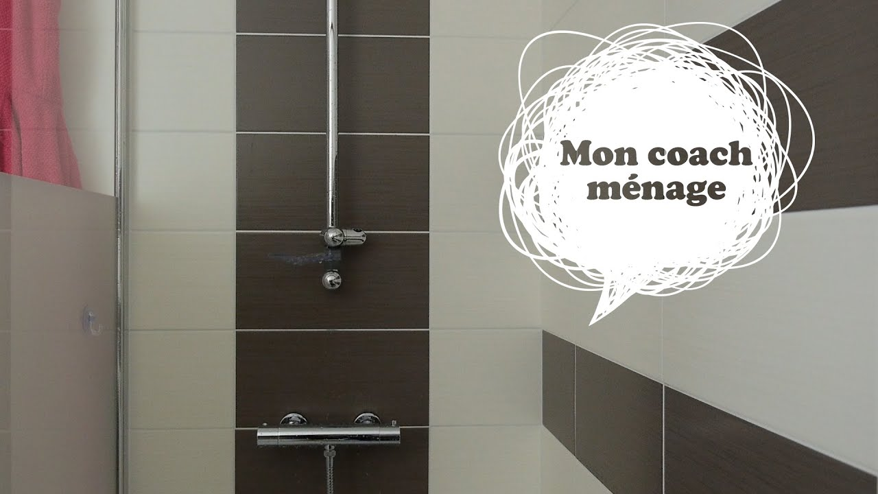 nettoyer une paroi de douche youtube. Black Bedroom Furniture Sets. Home Design Ideas