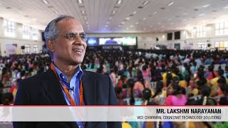 Presidential Address | Lakshmi Narayanan | Cognizant | ICTACT Youth Summit 2015
