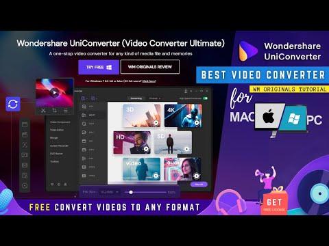 Best Video Converter for PC & Mac   Wondershare UniConverter Tutorial & Review 2021