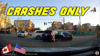 INSANE CAR CRASHES USA & Canada    BEST OF Hit And Run, Accident, Road Rage, Bad Driver, Brake Check