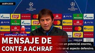 Inter Milán | El aviso de Conte a Achraf | Diario AS